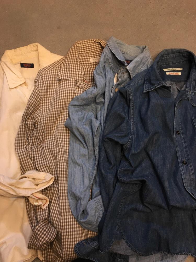 力織機で織られたOMNIGODのシャツ